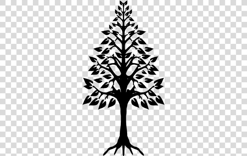 Tree Trees Black And White Tree Drawing Simple Black Tree Png
