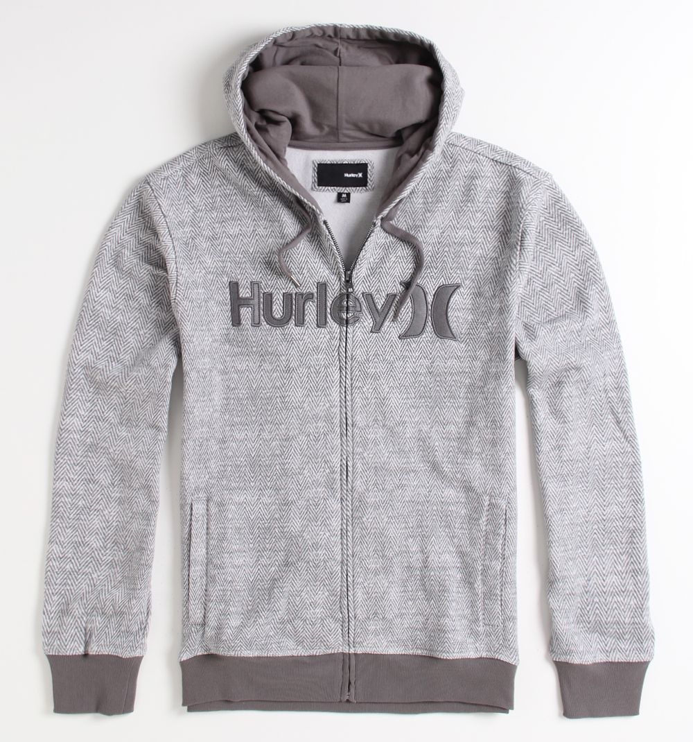 Hurley Fleece hoodie, Athletic jacket, Hooded jacket
