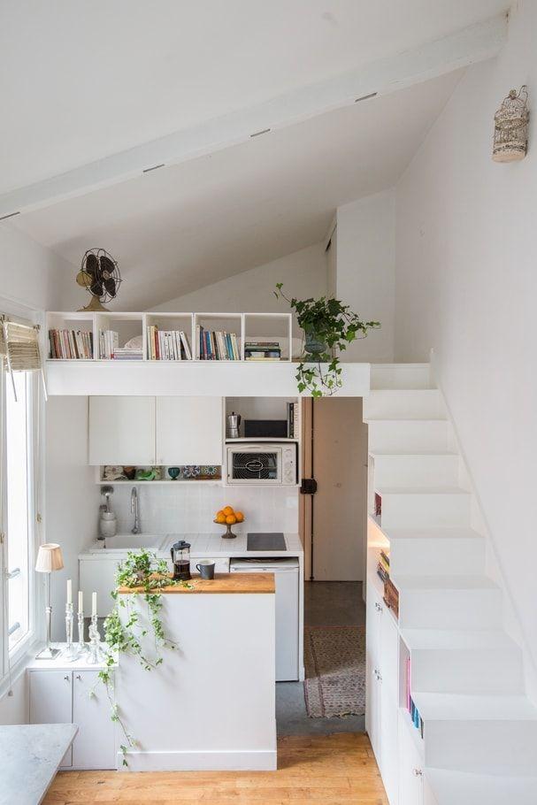 Escalier Design Amenagement Petit Appartement Amenagement Studio 20m2 Amenagement Petit Studio