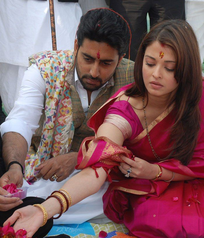 Happy Marriage Anniversary Aishwarya Rai Abhishek Bachchan Celebrate 7 Years Of Togetherness