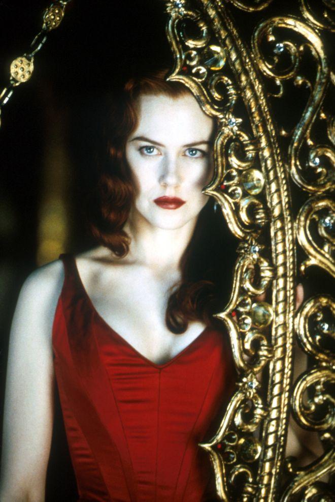 Nicole Kidman dans Moulin Rouge de Baz Luhrmann, sorti en 2001
