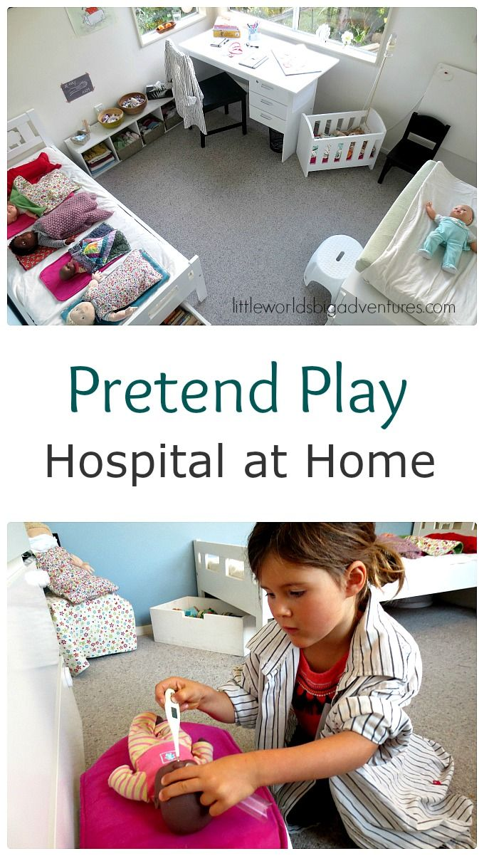 Make A Pretend Play Hospital At Home