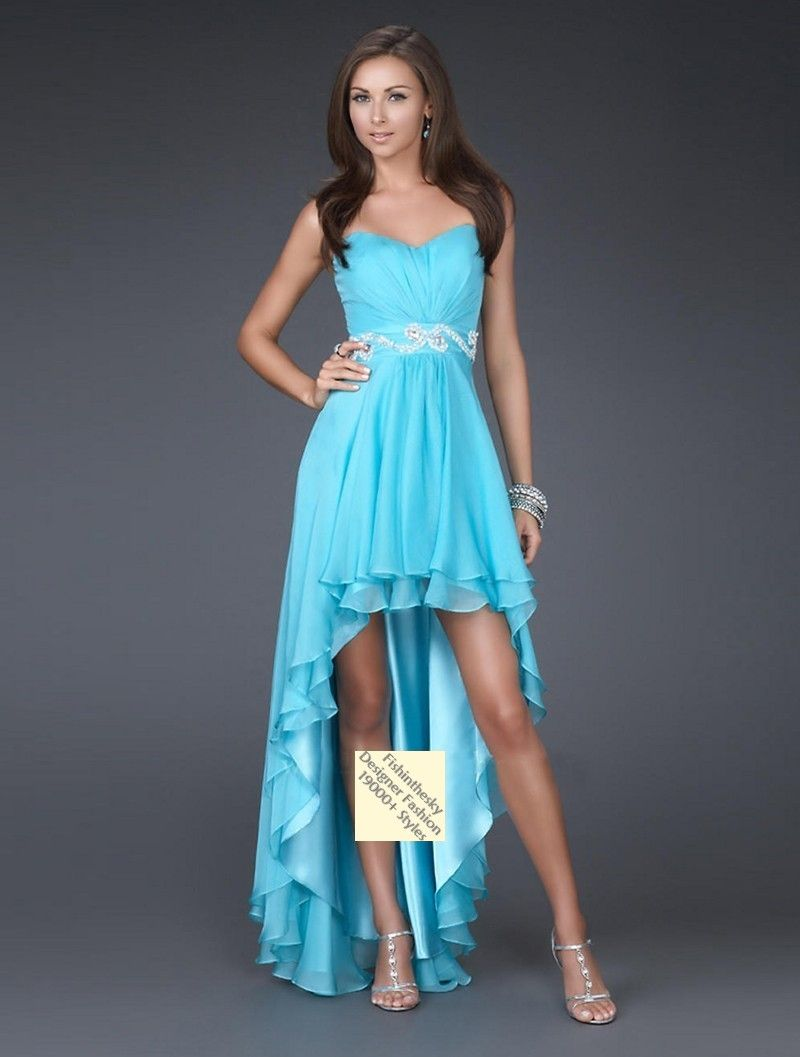 2011 Style Empire Sweetheart Sleeveless Asymmetrical Chiffon ...