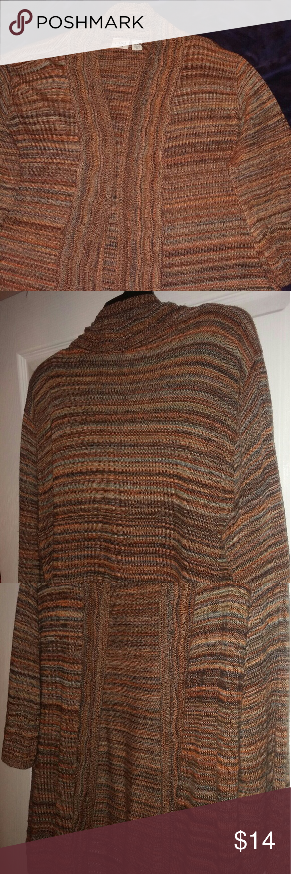 Open cardigan sweater | Open cardigan, Brown and Customer support