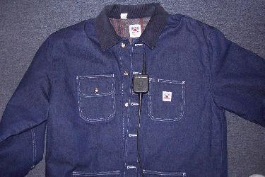 6a19f492f3 Firemans Chore® 15oz. Pre-Rinsed Denim Jacket Sizes Small - XL ...