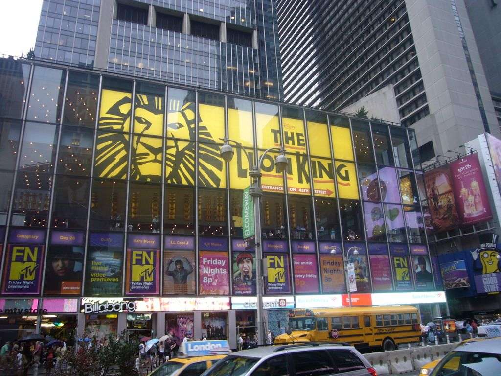 minskoff theater  new york  lion king