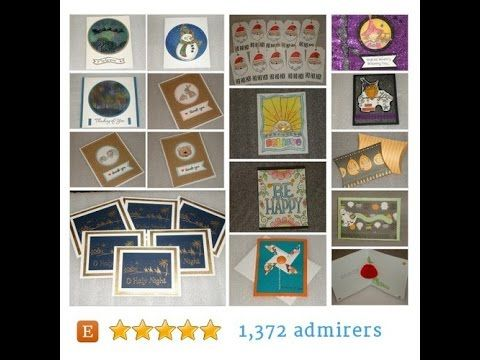 Cards and party favors for all occasions. by LadyJPaperGarden Etsy shop…