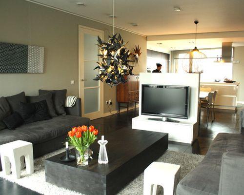 Alluring Tv Room Divider Tv Room Divider Houzz Living Room Divider Eclectic Living Room Wooden Room Dividers