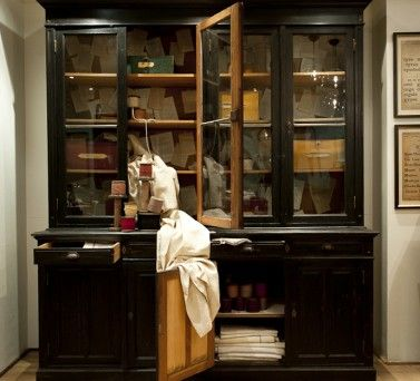 Attrayant Antique Pharmacy Cabinet Circa 1900   Versatile And Timeless