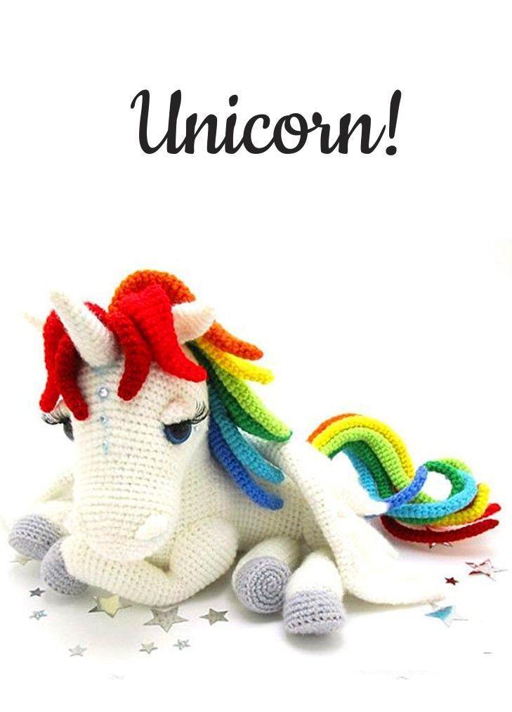 Dinegurumi!   amigurumis   Pinterest   Unicornios, Ganchillo y ...