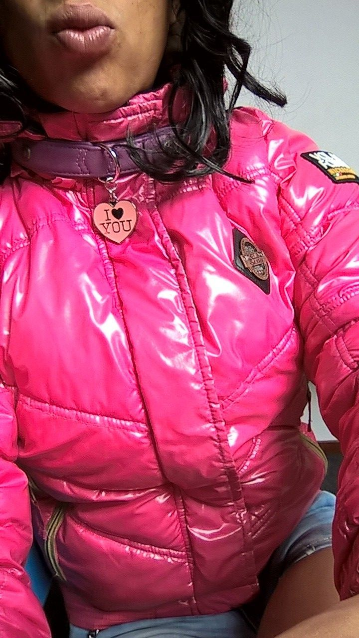 Nickelson Downjacketamp; Girl Pink Collar This My Tight For yb76fgvY