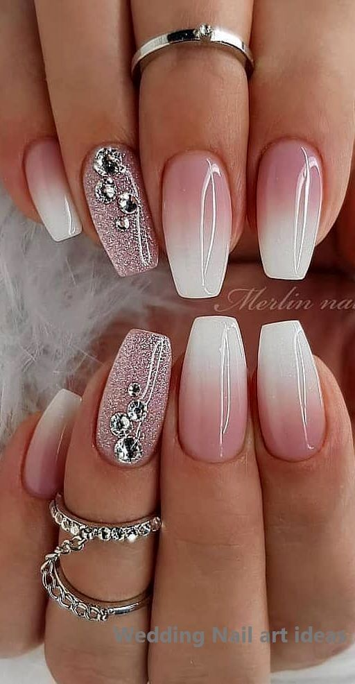 35 SIMPLE IDEAS FOR WEDDING NAILS DESIGN 1 - Popular