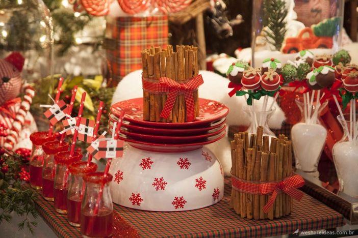 Mesa De Doces Natal Como Decorar A Mesa Para O Natal Decoracao Natal Papai Noel Doces Natal Bolos Natalinos Merry Christmas Chr Mesa De Doces Mesa Natal