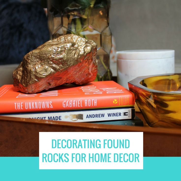 Protecting And Decorating Found Rocks For Décor Whitney J Resin Diy Projects Painted Display Project Rock