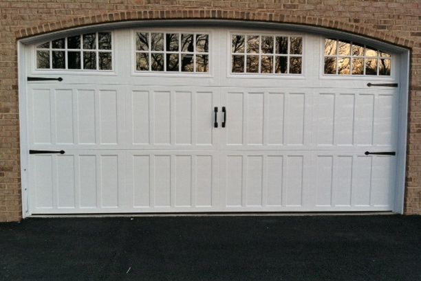 Arched Top Steel Carriage Door Carriage Doors Garage Doors Doors