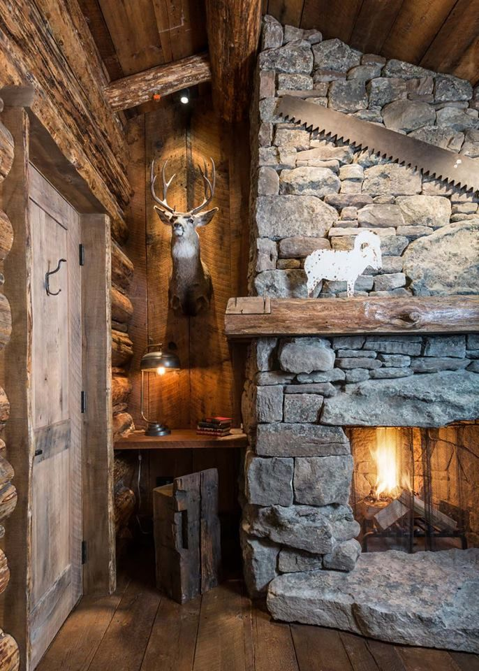 Pin By D Barton On Fire Pits Fireplaces In 2018 Cabin Home Rustic