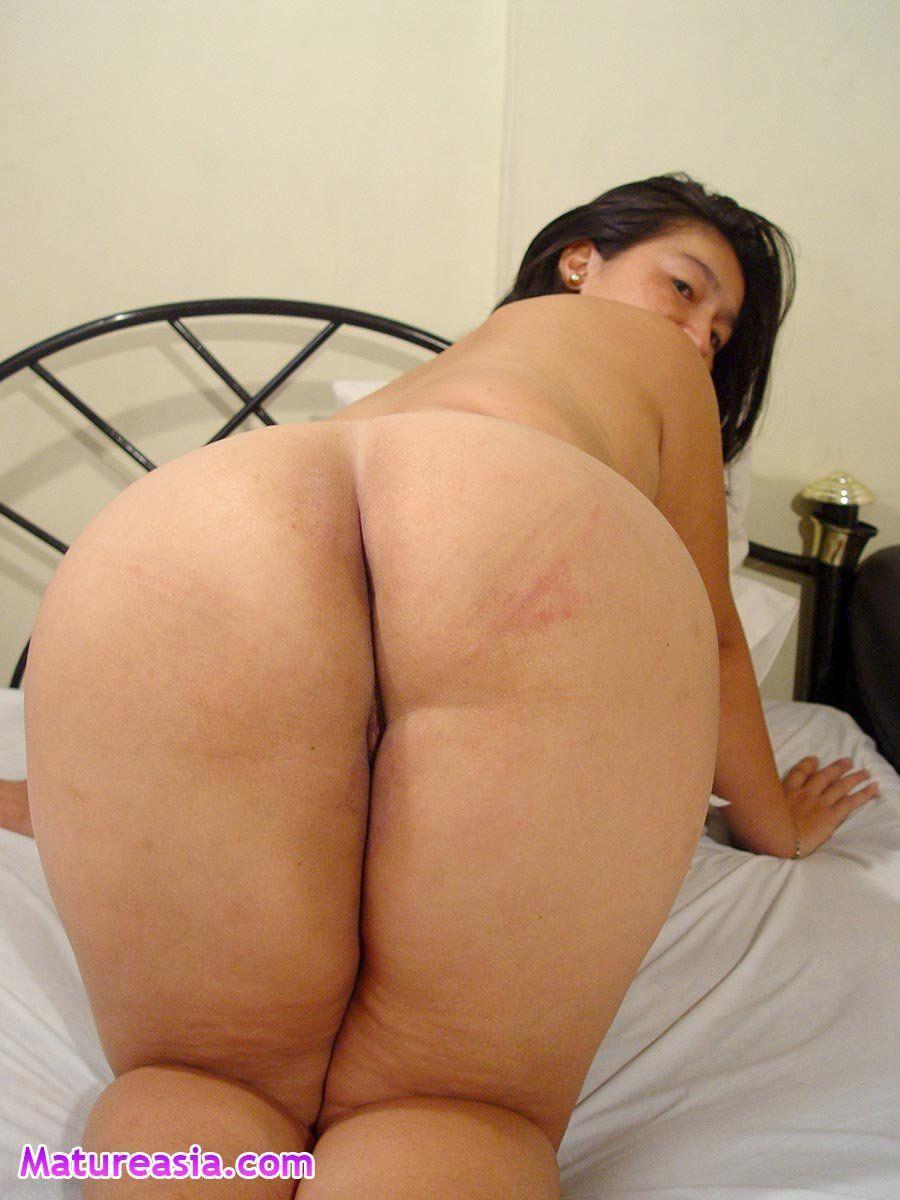 Mature asian big ass