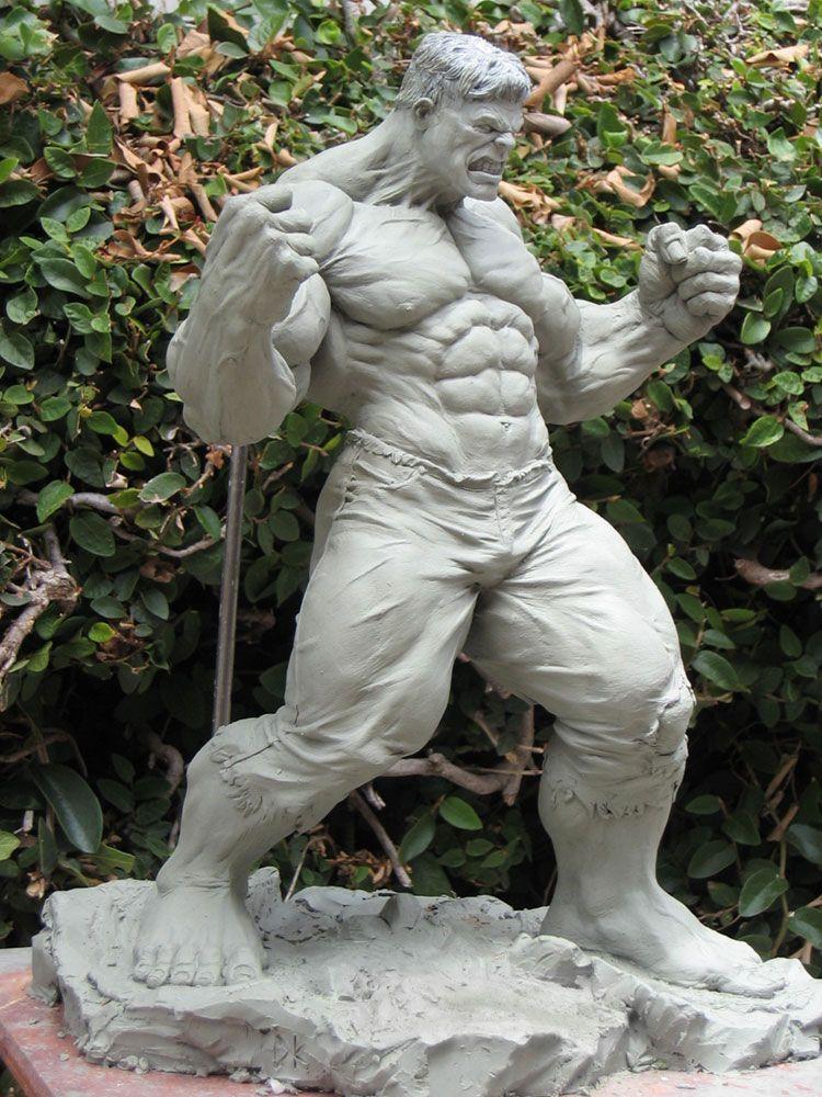 Incredible Hulk: dankatcher | Art Ref sculpture | Hulk art