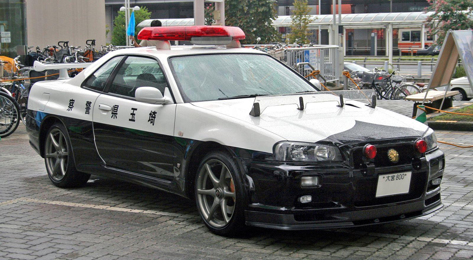 Japanese Police Car Toyota