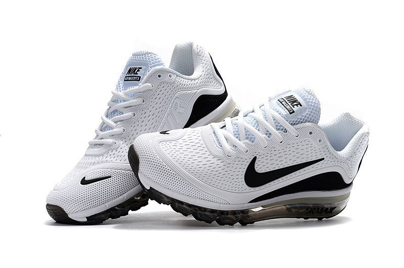 save off 44c10 313d7 New Coming Nike Air Max 2017 5+ KPU White Black Men Shoes