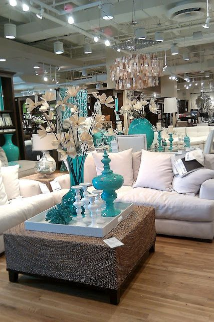 Store Tour Z Gallerie New Spring Set Teal Living Rooms