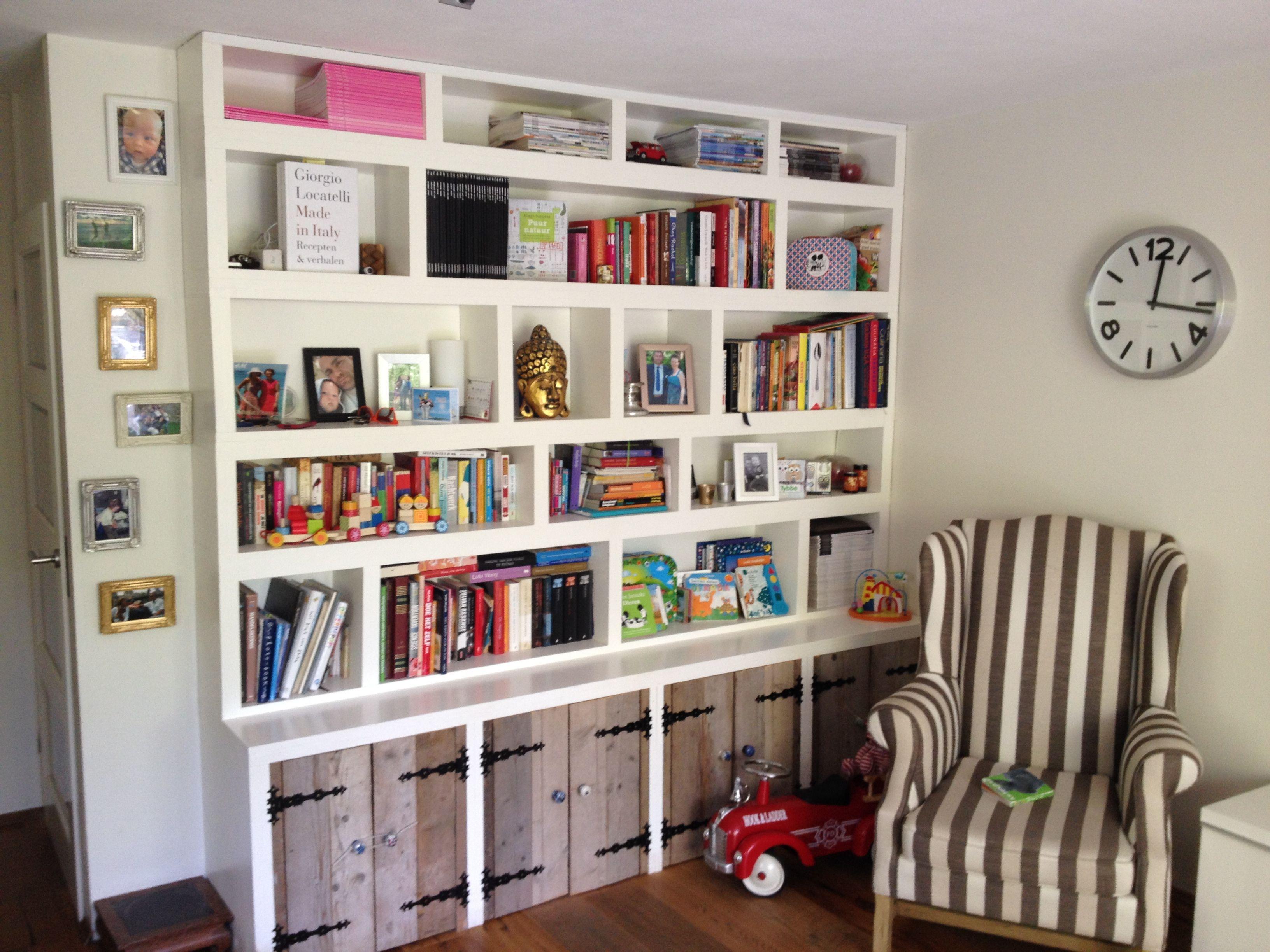 zelf boekenkast maken