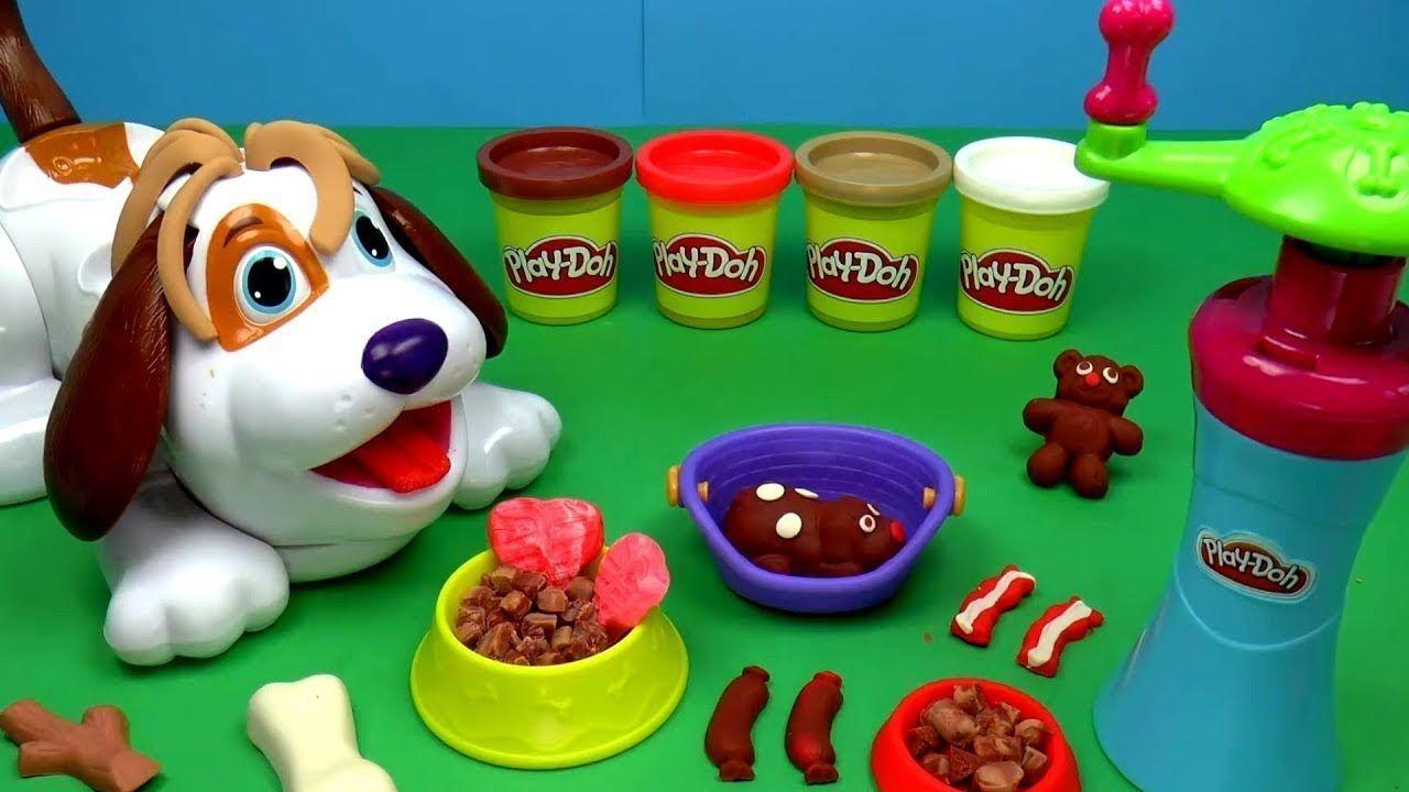 العاب صلصال عمل اشكال من الصلصال بالجرو العجيب للاطفال العاب أطفال Play Doh Art Play Doh Playdough