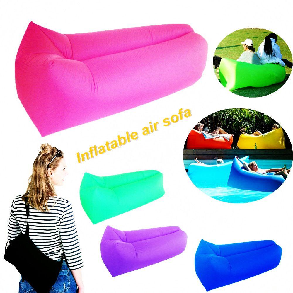 air sofa snelle opblaasbare laybag hangout air banken camping rh pinterest com