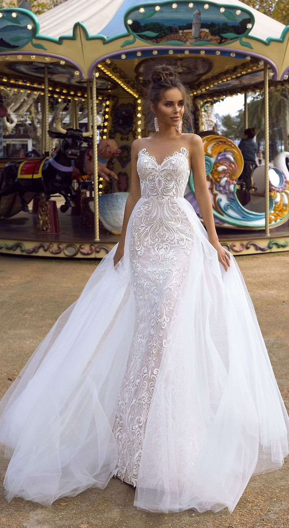 Beautiful wedding dress inspiration - Wedding Dresses, mermaid wedding gown,a-line wedding dress #bridalgown #weddinggown #weddingdress #bridedress