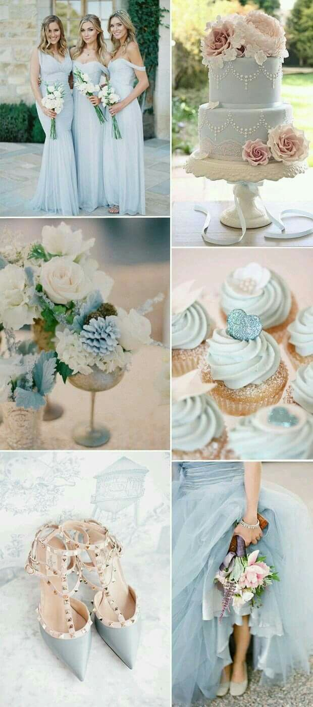 Light blue wedding decoration ideas  Light blue  Special  Pinterest  Light blue Nautical wedding and