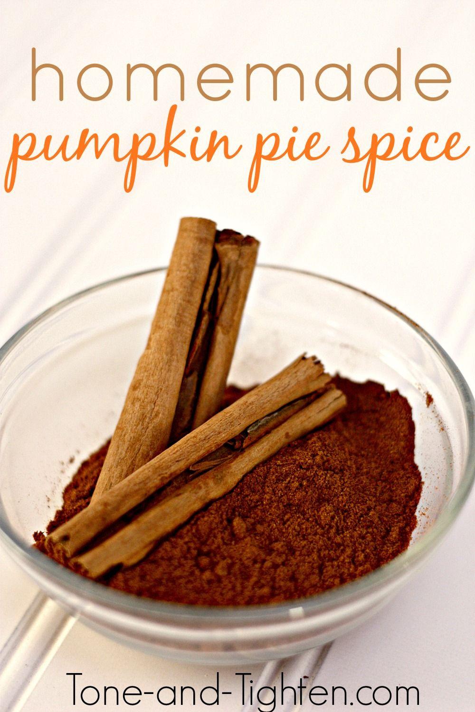 DIY Homemade Pumpkin Pie Spice Recipe Homemade pumpkin