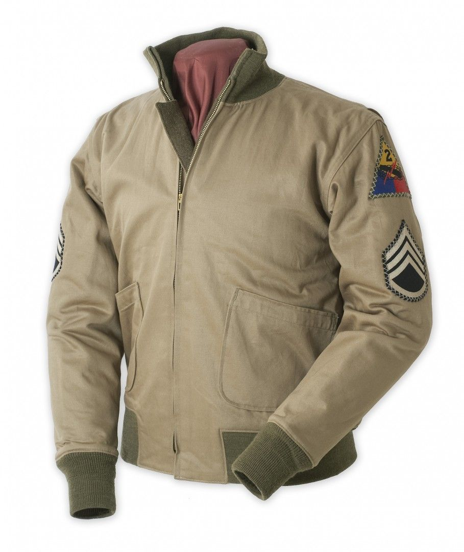 d47213988 Buzz Ricksons 2nd Armored Wardaddy 1st Patt Tanker Jacket | Clothing ...