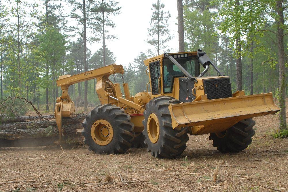 Tigercat 610C Skidder | Tractors and Heavy Equipments ...