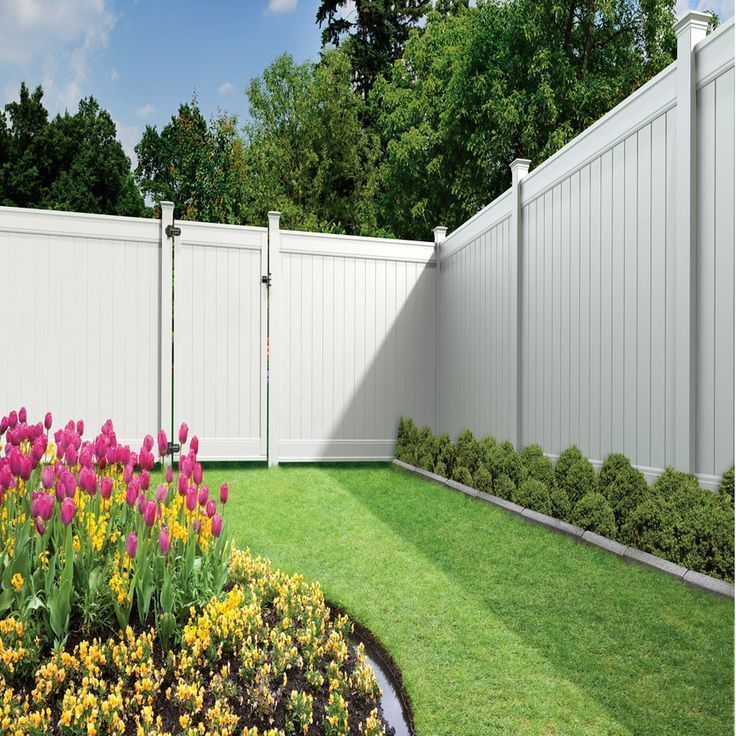 46 Beautiful Privacy Backyard Wood Fence Ideas