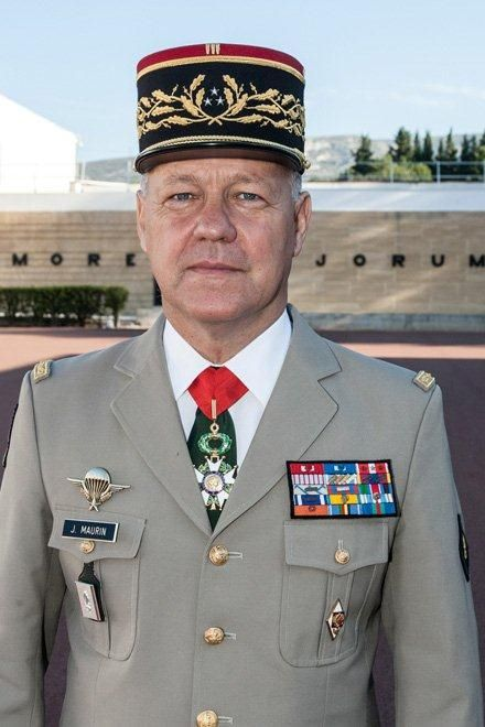 General Maurin Legion Etrangere French Foreign Legion French