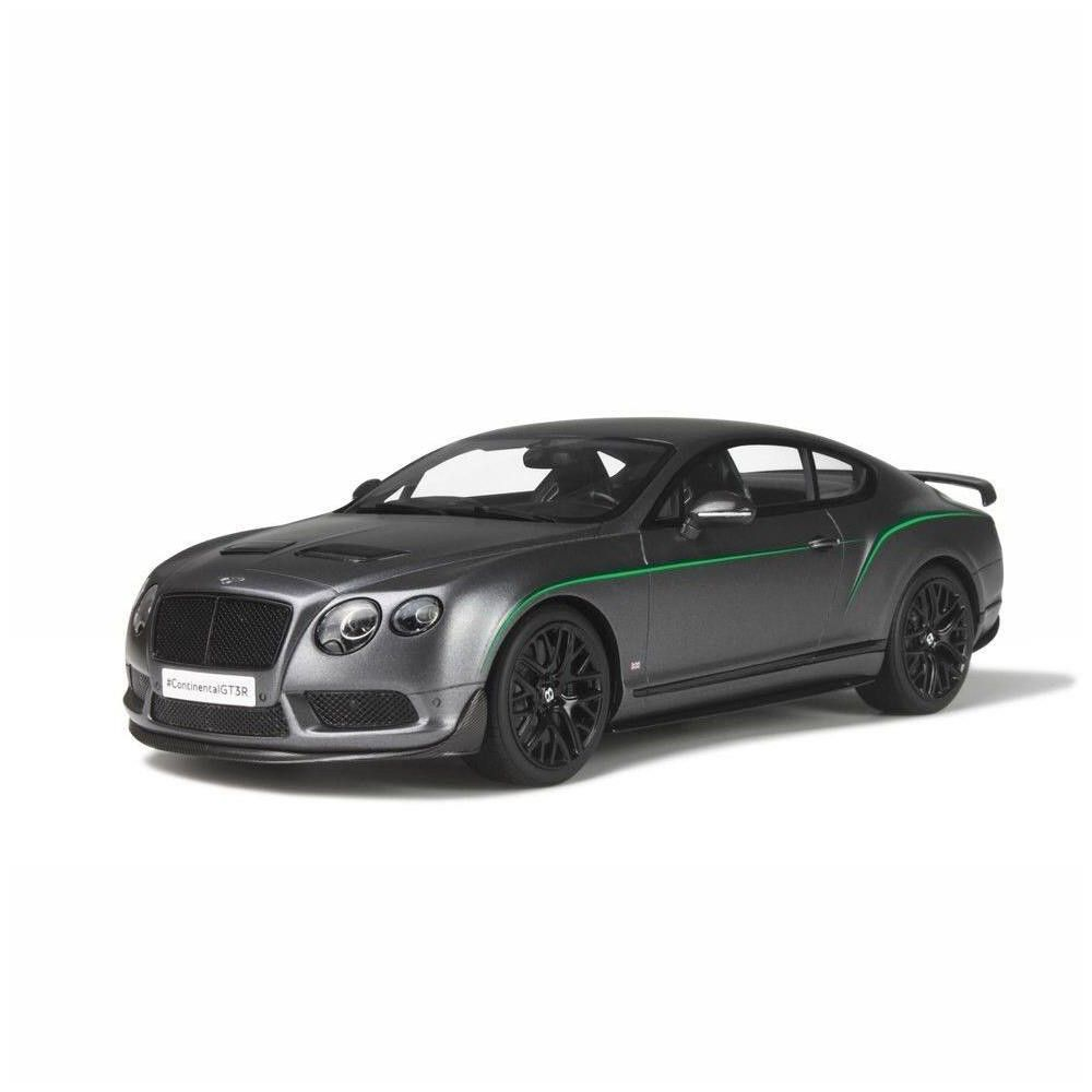 Bentley Continental Gt3 R Satin Grey Limited Edition 1 18 Model