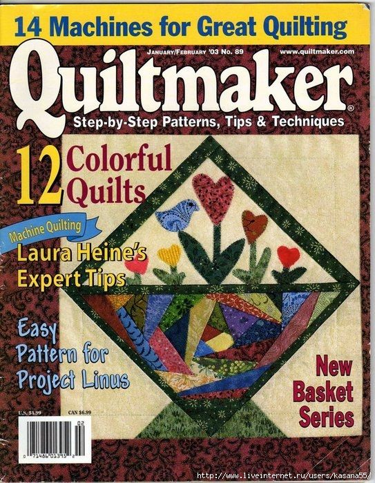 .jan/feb 2003 country baskets part 1 and america the beautiful part 4