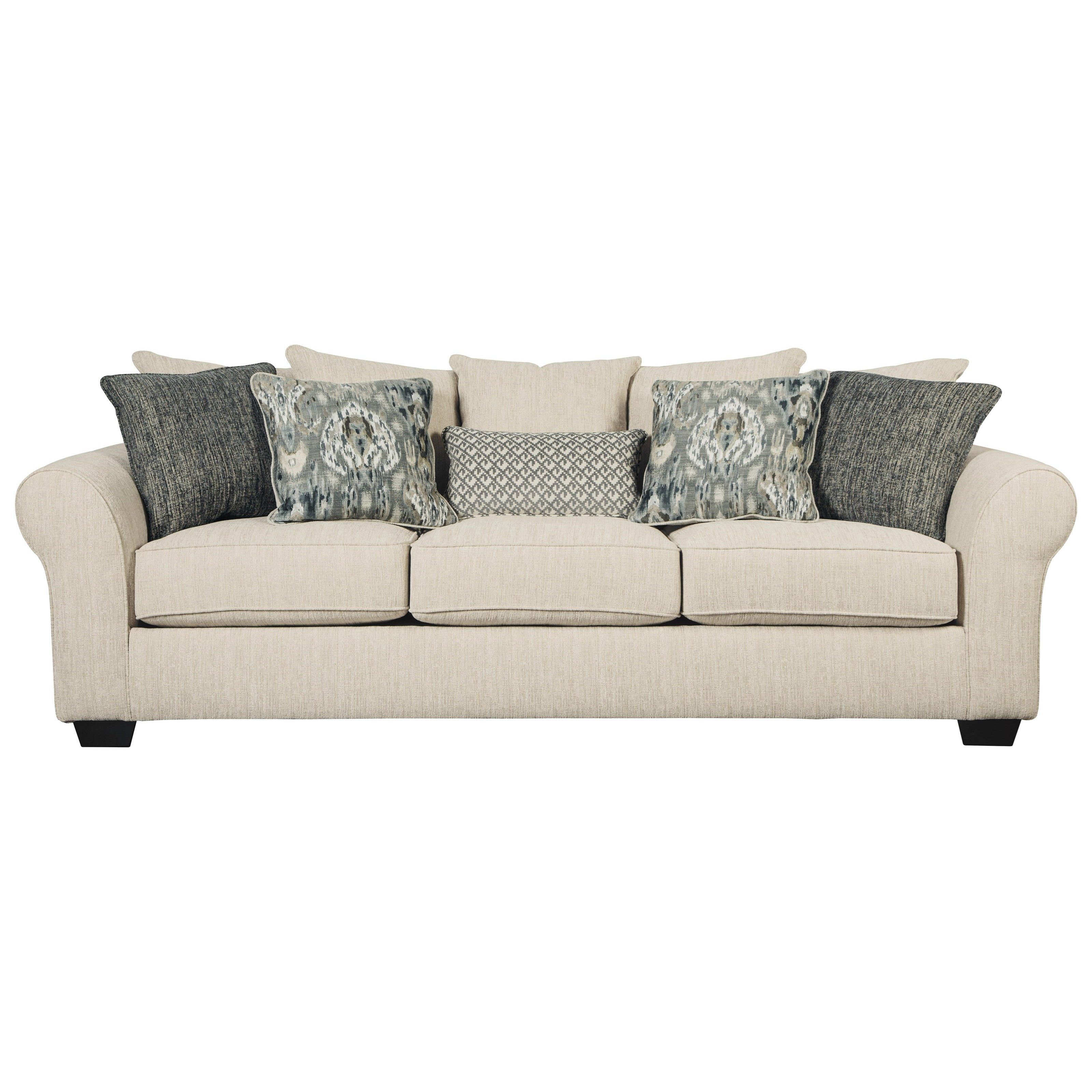 back w pillows contemporary reviews furniture by tufted oversized sofa and cupboard janley accent benchcraft with loveseat