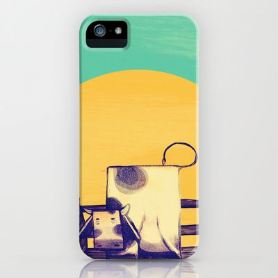Cow Sunset iPhone Case by ErDavid - $35.00