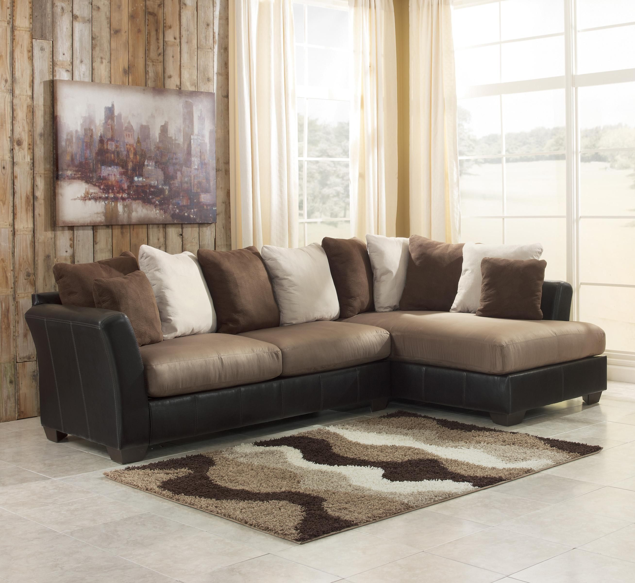 Martino Leather Chaise Sectional Sofa 2 Piece Http Ml2r Com
