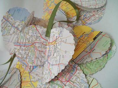 {ROUND UP} valentine's day gift using maps - Creative Juice | @Mindy CREATIVE JUICE