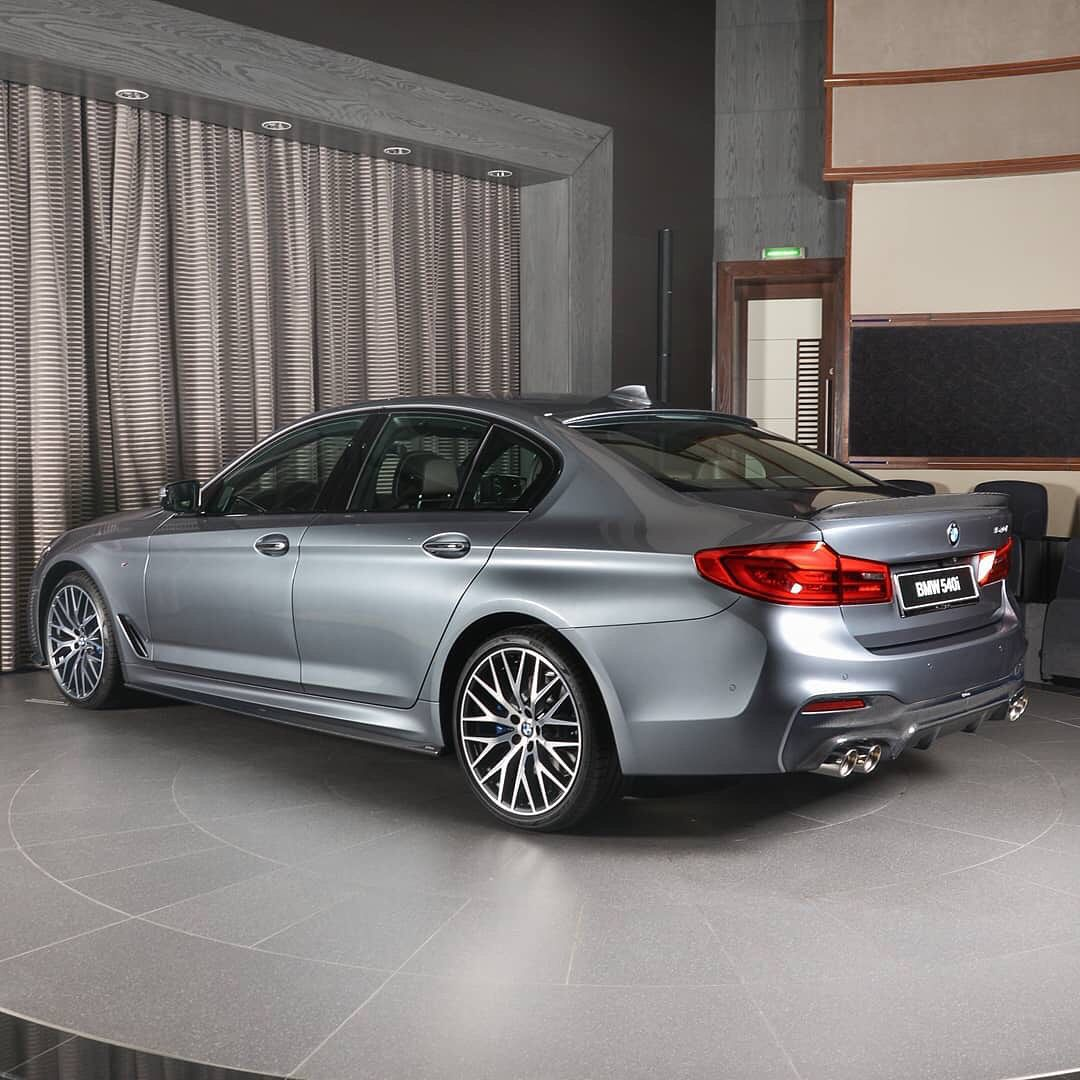 Bmw 540i Bluestone M Sport Package And 3ddesign Package 6