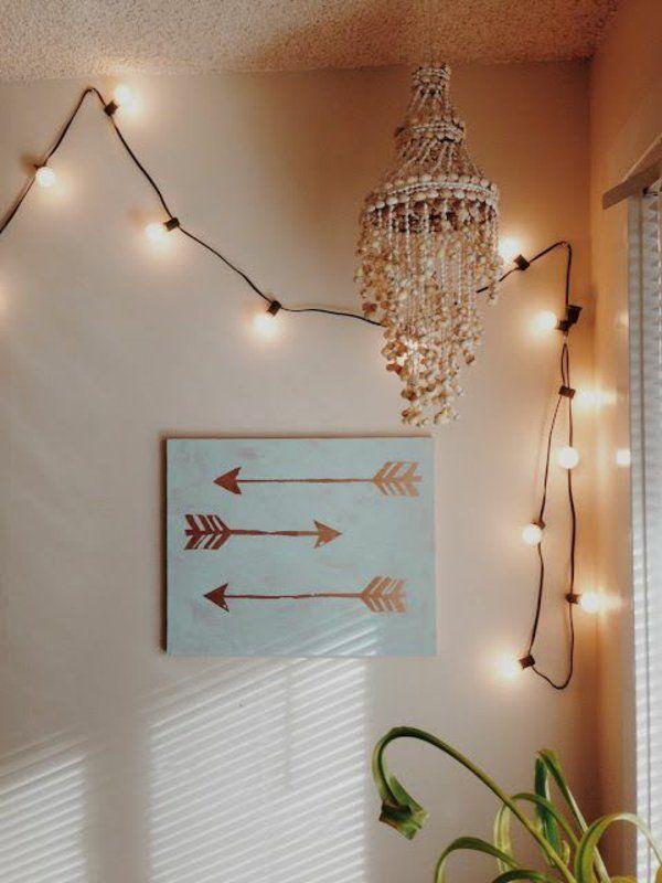 1001 ideen moderne leinwandbilder selber gestalten leinwandbilder gestalten und lichterkette. Black Bedroom Furniture Sets. Home Design Ideas