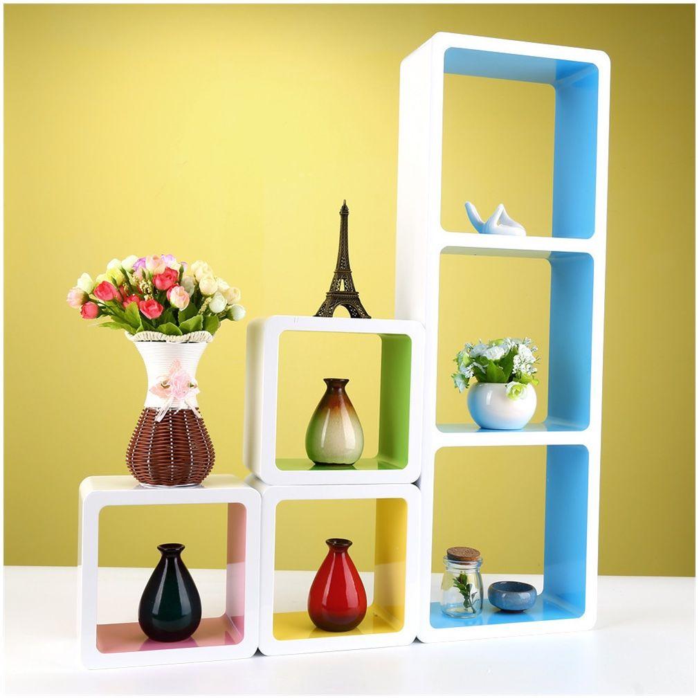 Modern Decorative Floating Wall Shelf Display Unit Pattern - The ...