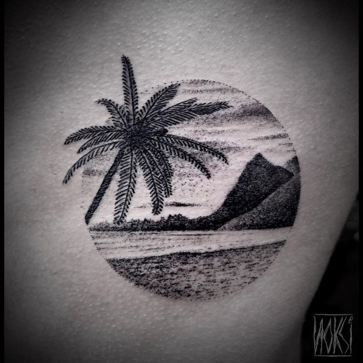 palmen prickarna id en tattoos pinterest reise tattoos reise und tattoo ideen. Black Bedroom Furniture Sets. Home Design Ideas