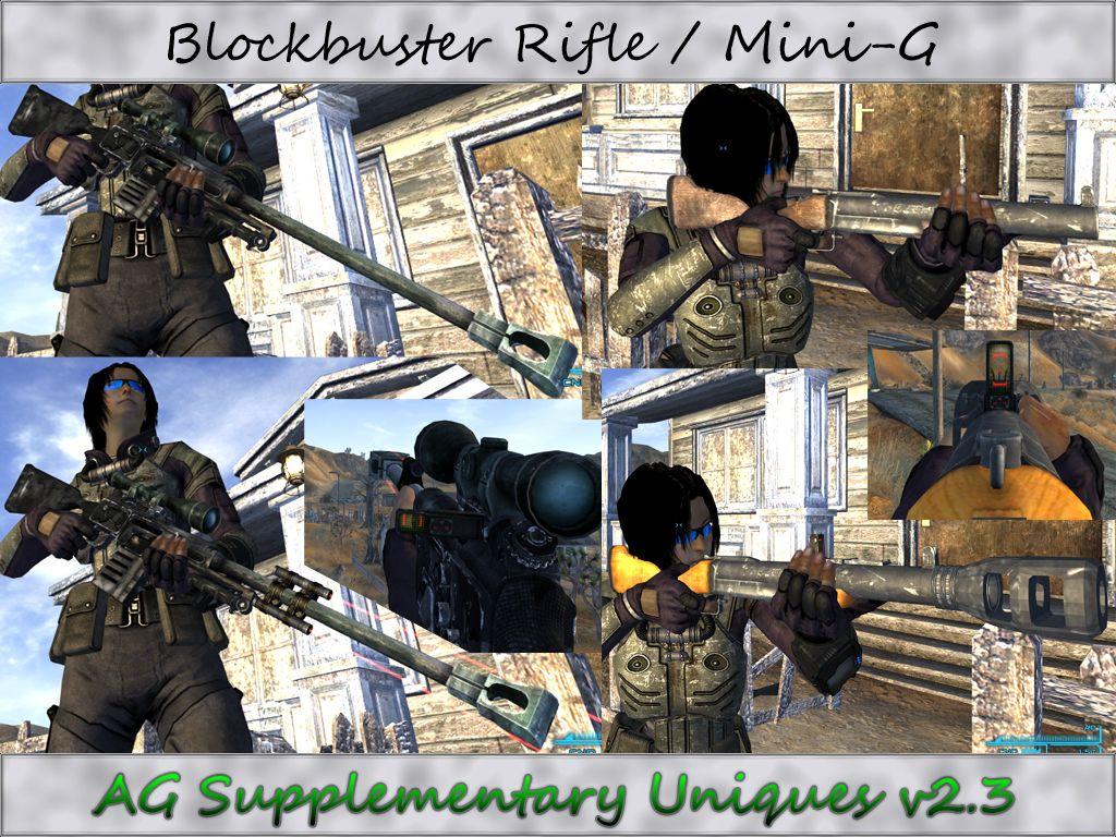 скачать мод Weapon Mods Expanded на Fallout New Vegas - фото 9