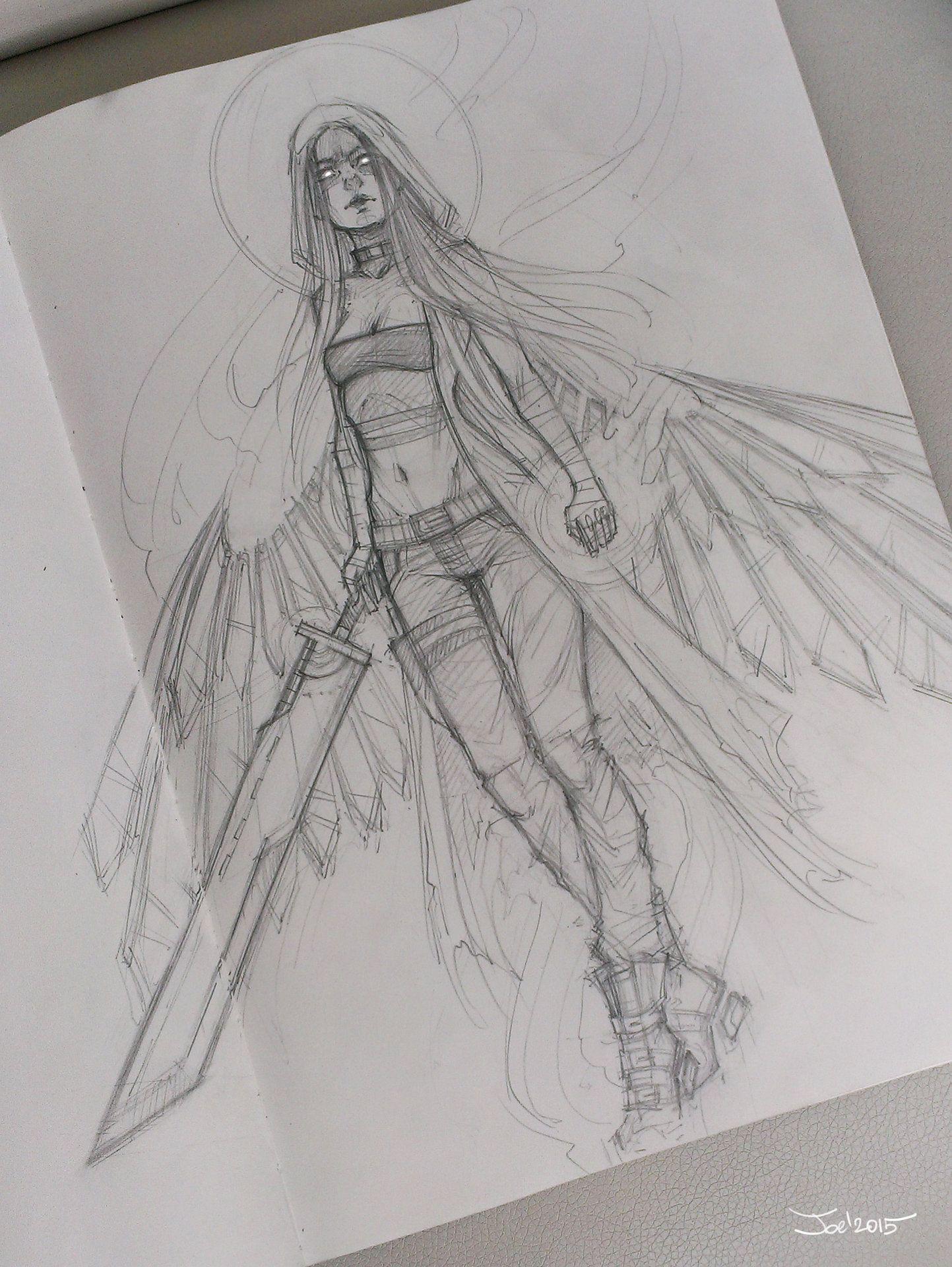 https://artstation.com/artwork/angel-sketch