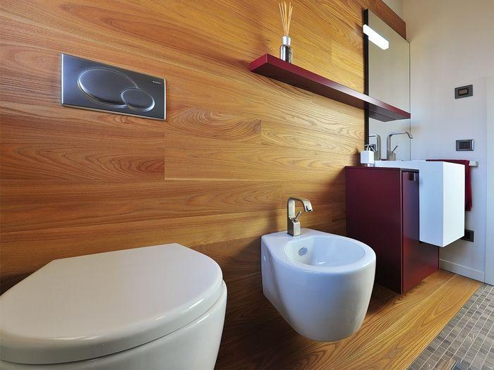 Il parquet in bagno garbelotto e masterfloor pavimenti - Parquet per bagno ...