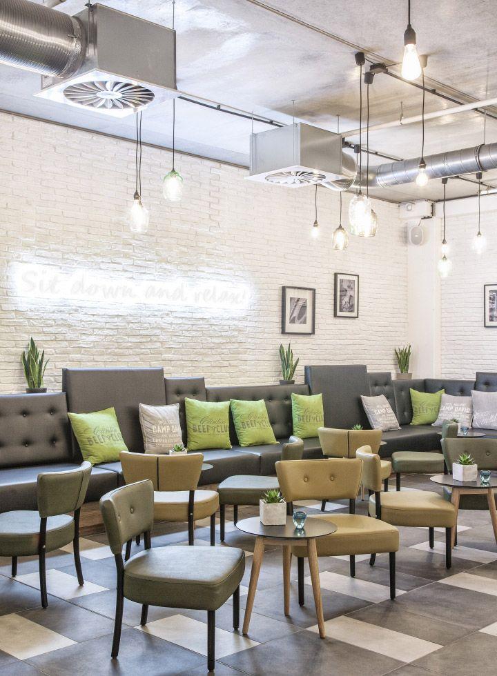 Susanne Kaiser clintons restaurant staff canteen by susanne kaiser architektur