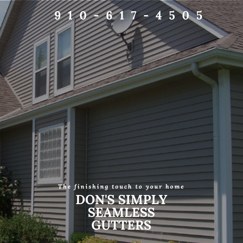 Wilmington Gutter Repair Seamless Gutters How To Install Gutters Gutter Repair